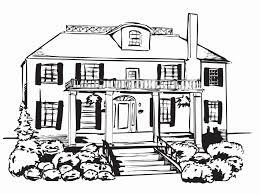 Disegno Strada Da Colorare Disegno Casa Di Campagna Linee Di Trend