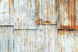 how to rust corrugated metal red rusty iron sheets rusted fence old corruga