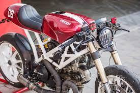 Monstrosity - Roissetter Ducati Monster 1100   Return of the Cafe Racers    Motorrad umbauten, Ducati monster 1100, Ducati monster