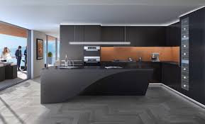 Kitchen Island Modern Interesting Modern Black Kitchens Kitchen Grey Stools N On Decor