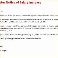 Salary Increase Proposal Sample 10 Salary Increment Letter Samples Proposal Sample