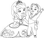 Раскраска для девочек играть онлайн бесплатно софия