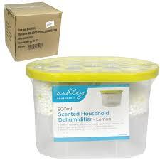 Ashley Lemon Dehumidifier 500ml x24 - Concord Cash and Carry