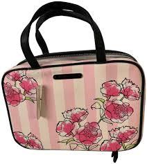 victoria s secret nwt victoria s secret iconic strip travel makeup bag image 0