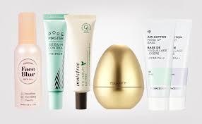top 5 best primers from korea korean primer best makeup k beauty europe