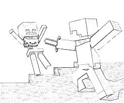 Minecraft Coloring Pages Feisty Frugal Fabulous