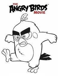 Kids N Funcom 6 Coloring Pages Of Angry Birds Movie