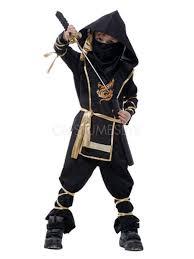 Ninja Suit Size Chart Halloween Black Ninja Costume For Kids Japanese Traditional Costume Cosplay
