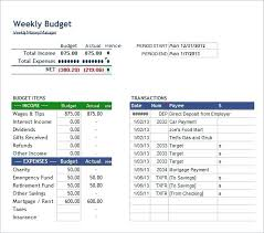 Biweekly Budget Template Bi Weekly Budget Template Spreadsheet Updrill Co