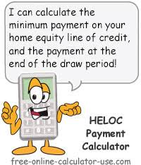 Heloc Payment Calculator With Interest Only And Pi Calculations