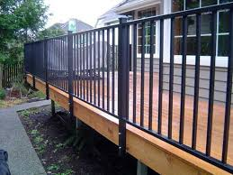 Metal deck railing ideas Wrought Iron Aluminum Deck Railing Ideas Inspiring Metal Deck Railing Systems Aluminum Deck Railing Riyul Porch Decorating Aluminum Deck Railing Ideas Riyul