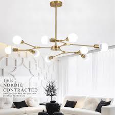 pendant lighting bar. Large Chandelier Lighting Gold Pendant Light Bar LED Lamp Kitchen Ceiling Lights L