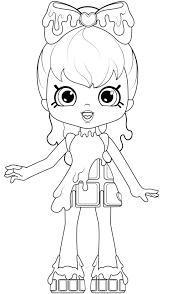 Coloring Pages Marvelous Coloring Sheets Shopkins Image