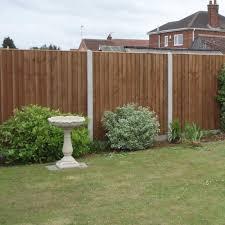 18001830febpanelbrown heavy duty fence panel feather edge boarded