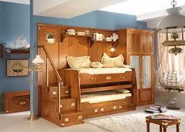 wooden bunk beds for kids bedroom