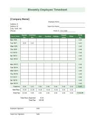 Free Timesheet Forms 24 Free Timesheet Time Card Templates Template Lab 1