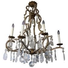 viyet designer furniture lighting holly hunt rock crystal chandelier