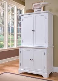 White Kitchen Hutch Cabinet Pleasing Kitchen Cabinet With Hutch Intended For Kitchen Wooden