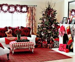 simple living room christmas decorations