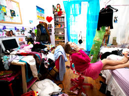 Messy Teenage Bedrooms For Bedroom Makeover