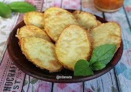 Singkong keju goreng tepung yang enak gurih dan gampang cara membuatnya.saksikan terus video kami ya gaeesss dan jangan lupa untuk mencobanya.jangan lupa ya. Resep Ubi Goreng Remas Nu