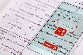 photomath app solves math equations smartphone text photomath app solves math equations smartphone text recognition time