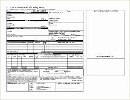 bill of lading trucking trucking bill of lading template design template example