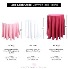 what size tablecloth for a 60 round table how to make a tablecloth for a inch