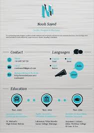images about graphics cv on pinterest   resume  infographic    creative resume design  resume style  cv  curriculum vitae nooh sayed   graphic designer illustrator by nooh sayed  via behance