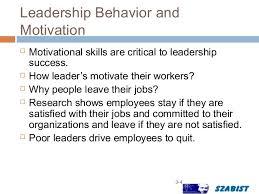 Motivate Leadership Leadership Motivation Presentatiion