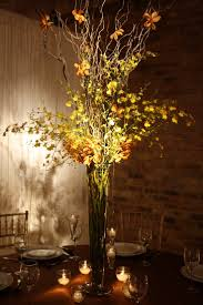 Stunning Tall Branch Wedding Centerpieces With Lighting (Image 16 of 30)