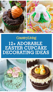 Cupcake Decorating Accessories 100 Cute Easter Cupcake Ideas Decorating Recipes for Easter 29