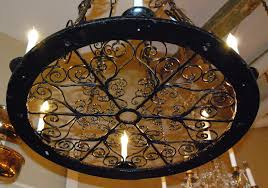 wrought iron chandeliers ideas