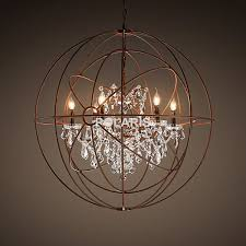 aliexpress modern vintage orb crystal chandelier with regard to brilliant property orb crystal chandelier remodel