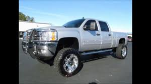 2011 Chevy Silverado 2500HD Diesel Lifted Truck For Sale - YouTube