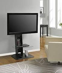 Tv stand and mount Line Designs Image Unavailable Amazoncom Amazoncom Ameriwood Home Galaxy Tv Stand With Mount For Tvs Up To