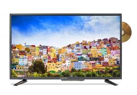 TV with DVD: Sceptre E328BD-SR 720p DVD Combo Main View Most Popular Budget 32-Inch TV-DVD Combination 2018