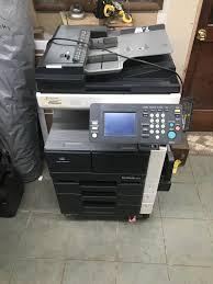 Operation is subject to the. Konica Minolta Model Pc 206 Bizhub 362 Copy Machine Printer Fax Machine S N A0rc0y1007063
