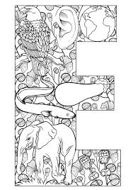 Small Picture Letters Coloring Pages For Adults Coloring Coloring Pages