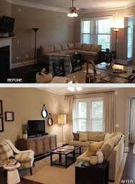 living room furniture setup ideas. before after small living room layout furniture setup ideas