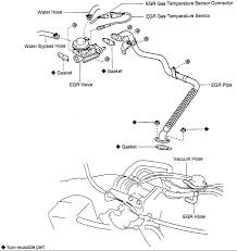 can not egr valve on 1995 toyota t100 v6