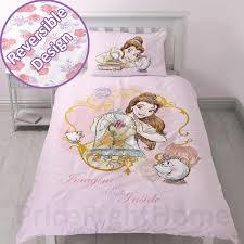 disney princess belle imagine single duvet cover set reversible girls bedding 1 of 3free