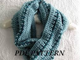 Free Infinity Scarf Crochet Pattern Beauteous Crochet Neck Scarf Patterns Free Crochet And Knit
