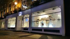 bespoke led lighting installation adidas clima cool