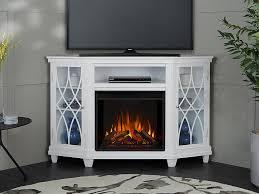 real flame lynette white corner
