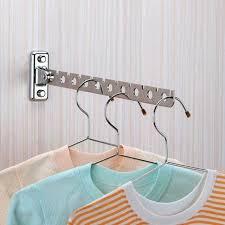 hanger mount bathroom towel drying rack