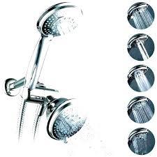 delta hydro rain 2 in 1 shower head chrome 4 spray reviews installation hydrorain five polished nickel bronze