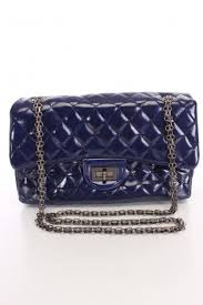 Best 25+ Navy blue handbags ideas on Pinterest | Navy blue clutch ... & Navy Blue Quilted Faux Leather Handbag Adamdwight.com