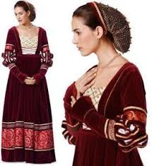 Medieval Dress Patterns Awesome Medieval Pattern EBay