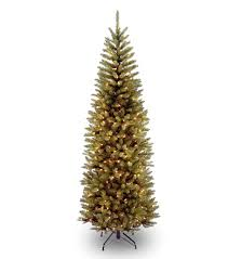 6ft Pre-lit Kingswood Fir Pencil Artificial Christmas Tree